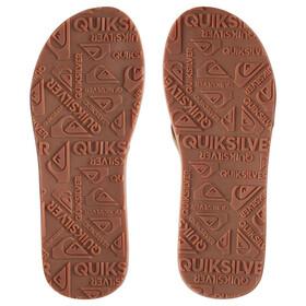 Quiksilver Carver Nubuck Sandals Herren solid tan